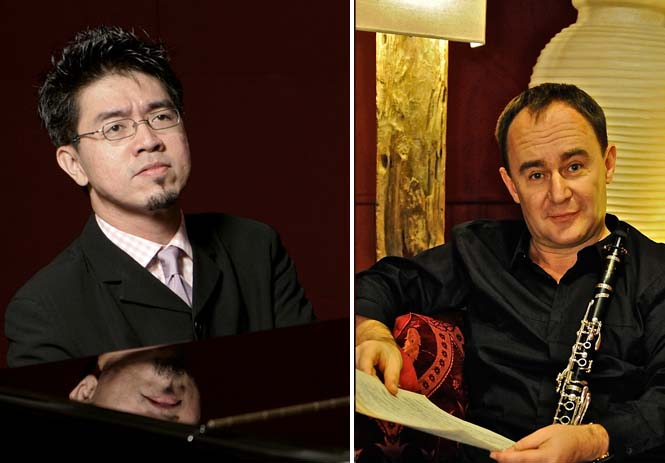 Albert Tiu and Marcel Luxen to perform and hold masterclasses in Manila