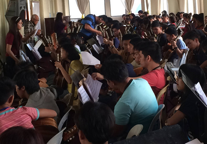rondalla workshop