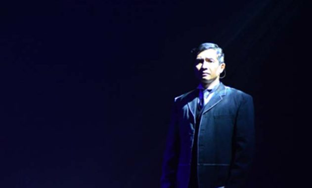 "Noel Rayos gives an enthralling performance as Jose Rizal/Pepe, whose epistolary correspondences with his friends, family, and ladyloves give life to Dr. Joachim Emilio Antonio's Palanca Award-winning play ""The Floret Road.""​"